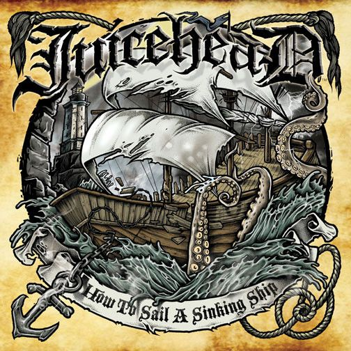 JuiceheaD: How to Sail a Sinking Ship CD (free full color poster inside!) - Misfits Records