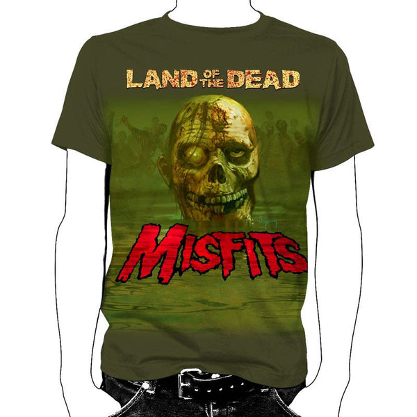 Land of the Dead T-Shirt - Misfits Records - 1