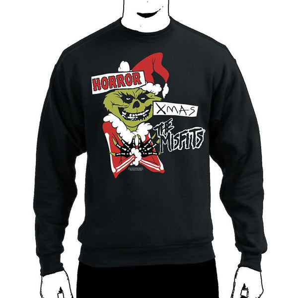 Horror Xmas Crewneck Sweatshirt - Misfits Records - 1