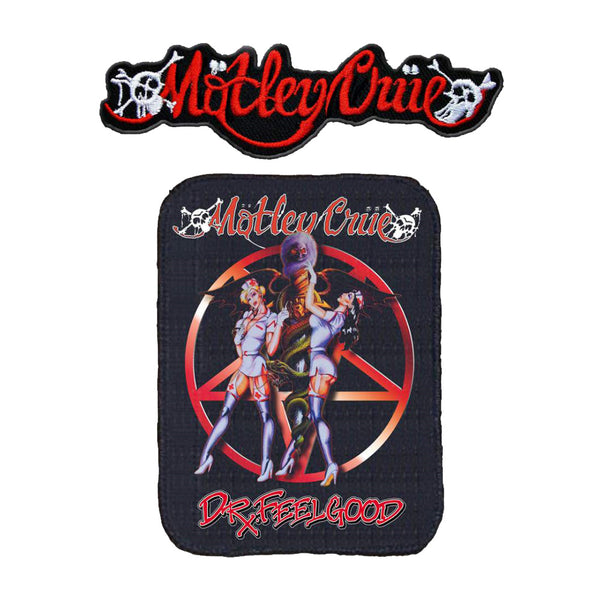 Motley Crue Patch Set