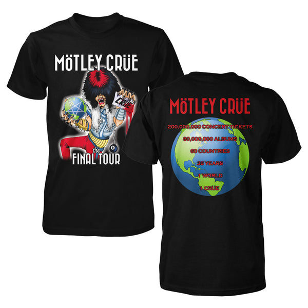 MOTLEY FINAL WORLD TOUR TEE