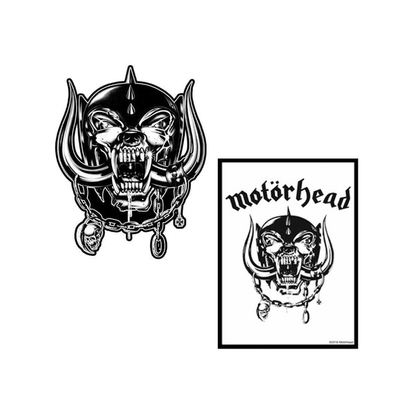 Warpig Sticker and Patch Set