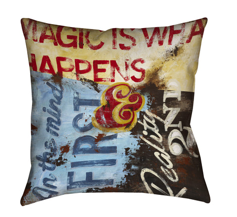 """Strategy For Everyday Sorcery"" Outdoor Throw Pillow"