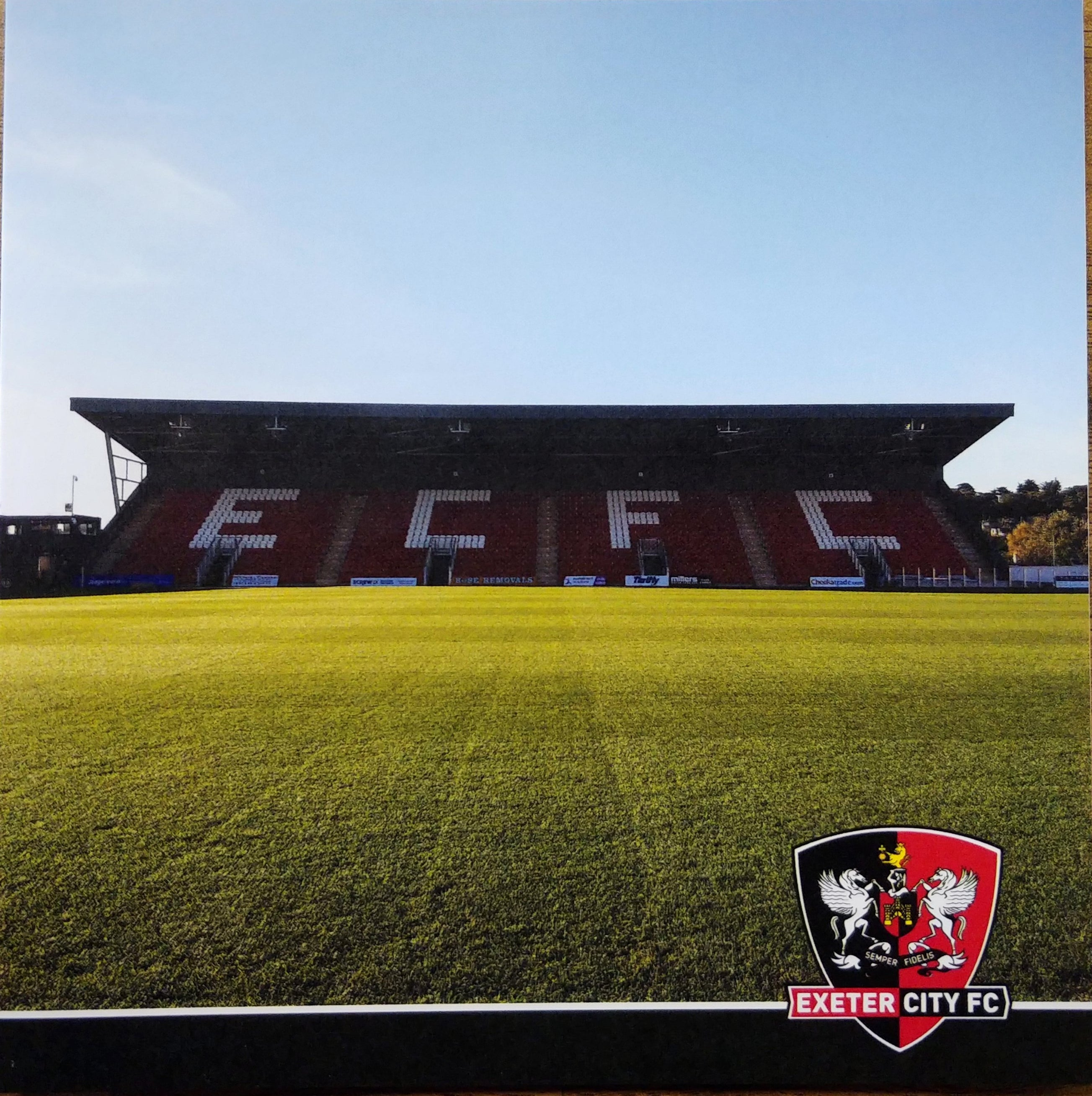 ECFC New Grandstand Greeting Card