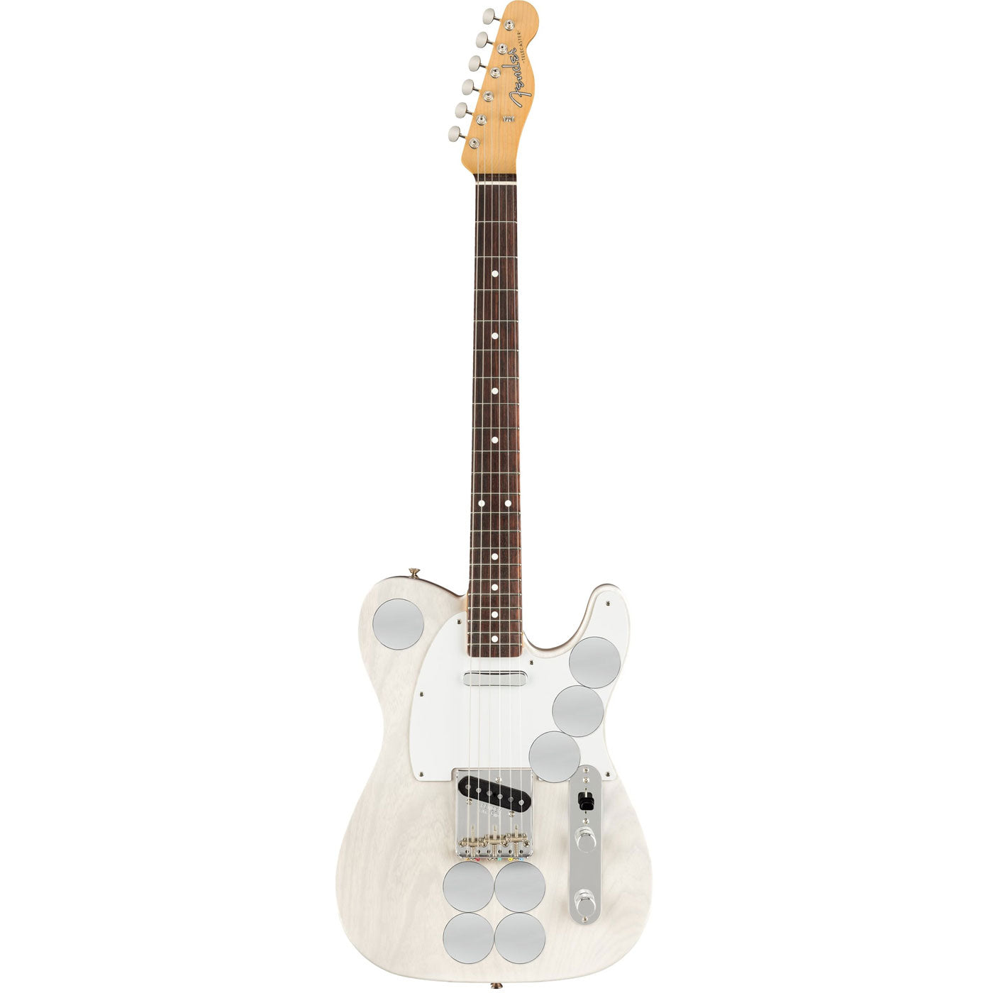 Fender Jimmy Page Mirror Telecaster, Rosewood, White Blonde