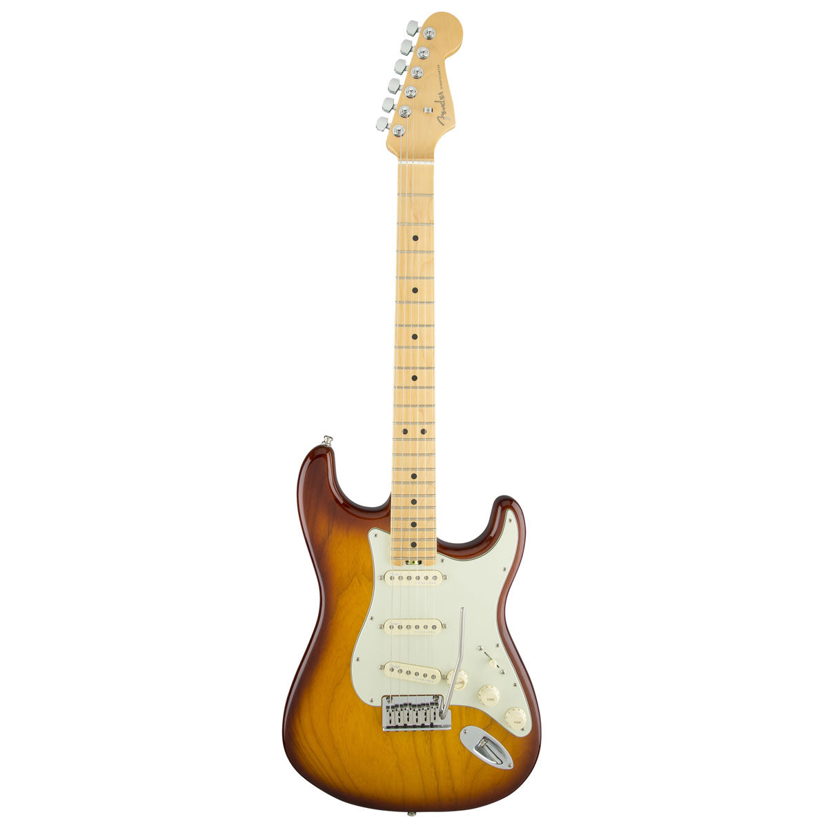 Fender American Elite Stratocaster, Maple - Tobacco Sunburst (Ash) | Lucky Fret Music Co.