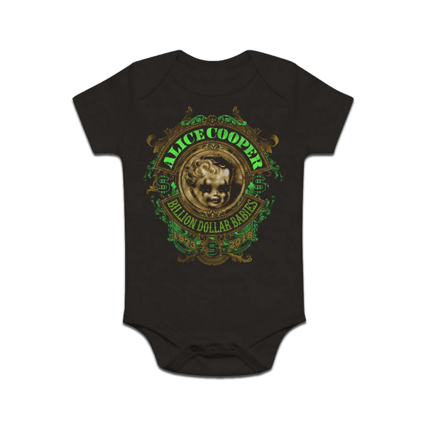 Billion Dollar Babies Anniversary Crest Onesie