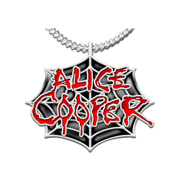 Alice Cooper Logo Necklace