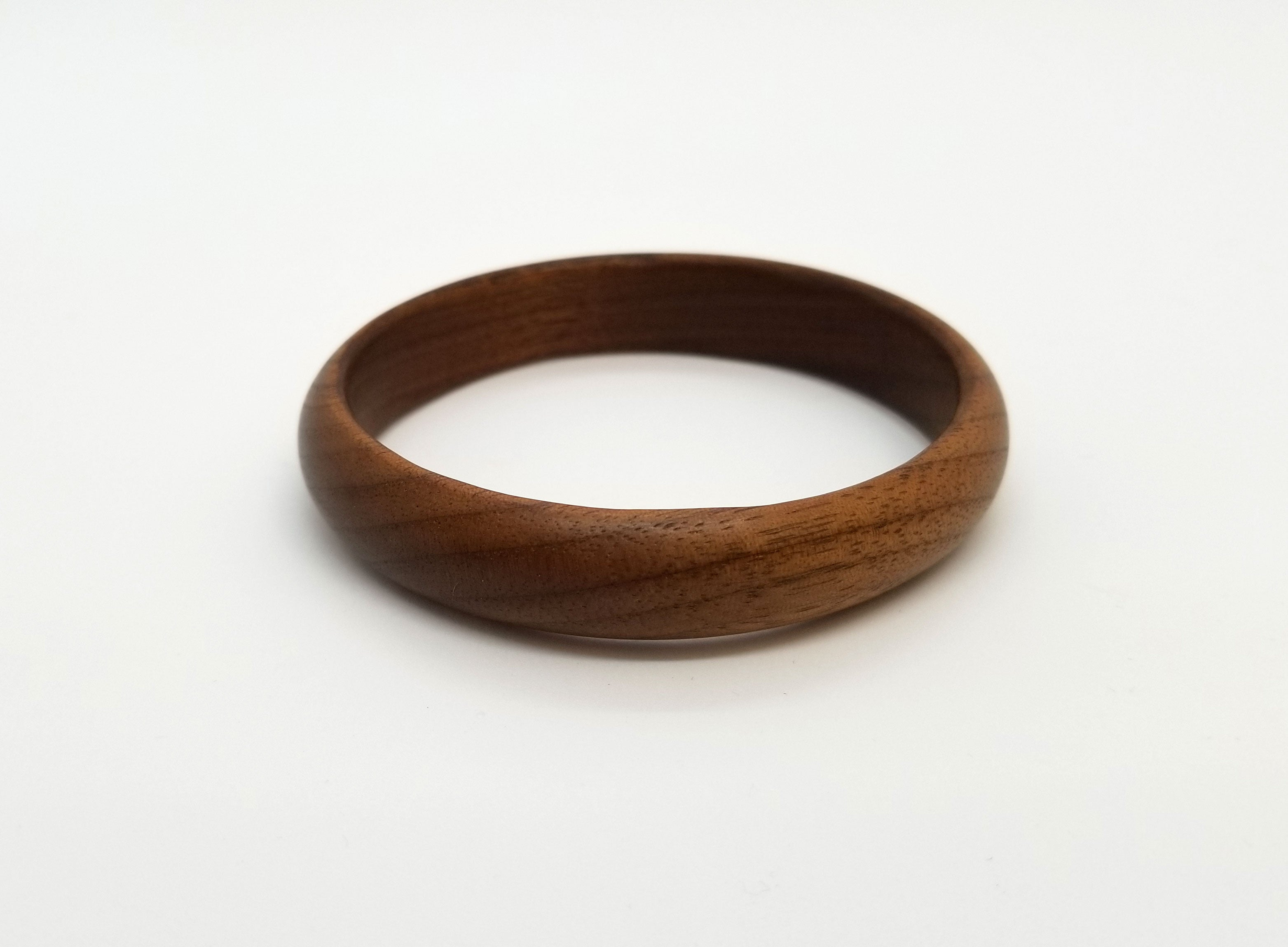 Black Walnut (Large) Bangle Bracelet
