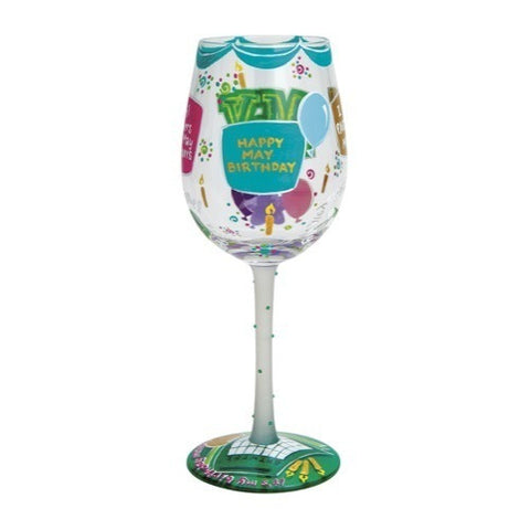 Lolita Months of the Year Wine Glasses - Time Your Gift - 20