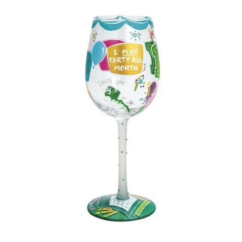 Lolita Months of the Year Wine Glasses - Time Your Gift - 21