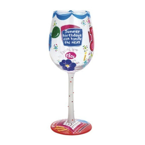 Lolita Months of the Year Wine Glasses - Time Your Gift - 30