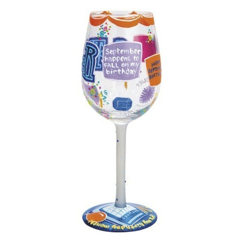 Lolita Months of the Year Wine Glasses - Time Your Gift - 36