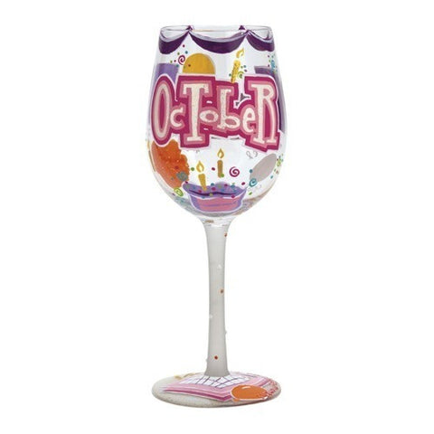 Lolita Months of the Year Wine Glasses - Time Your Gift - 40