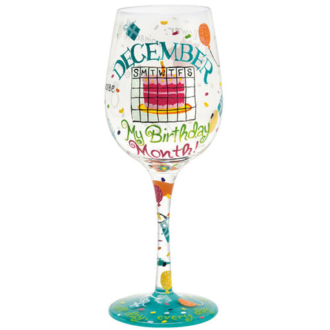 Lolita Months of the Year Wine Glasses - Time Your Gift - 47
