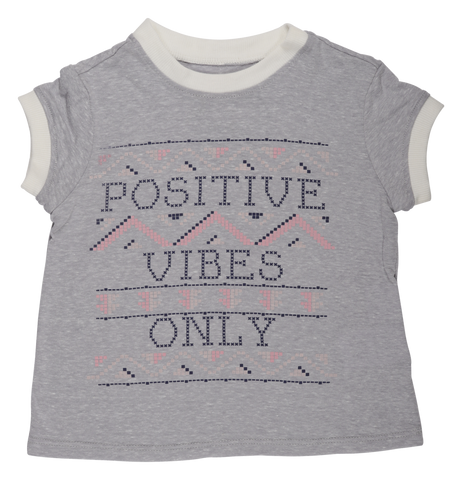 Positive Vibes  Ringer Tee
