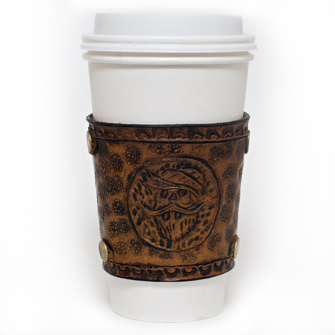 Beardsmith Leather Coffee Sleeve