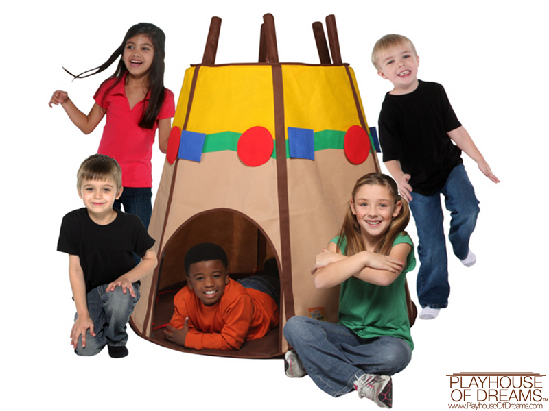 Bazoongi Special Edition Teepee - Playhouse of Dreams