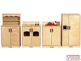 Birch 4 Piece Play Kitchen Set - Playhouse of Dreams  - 2