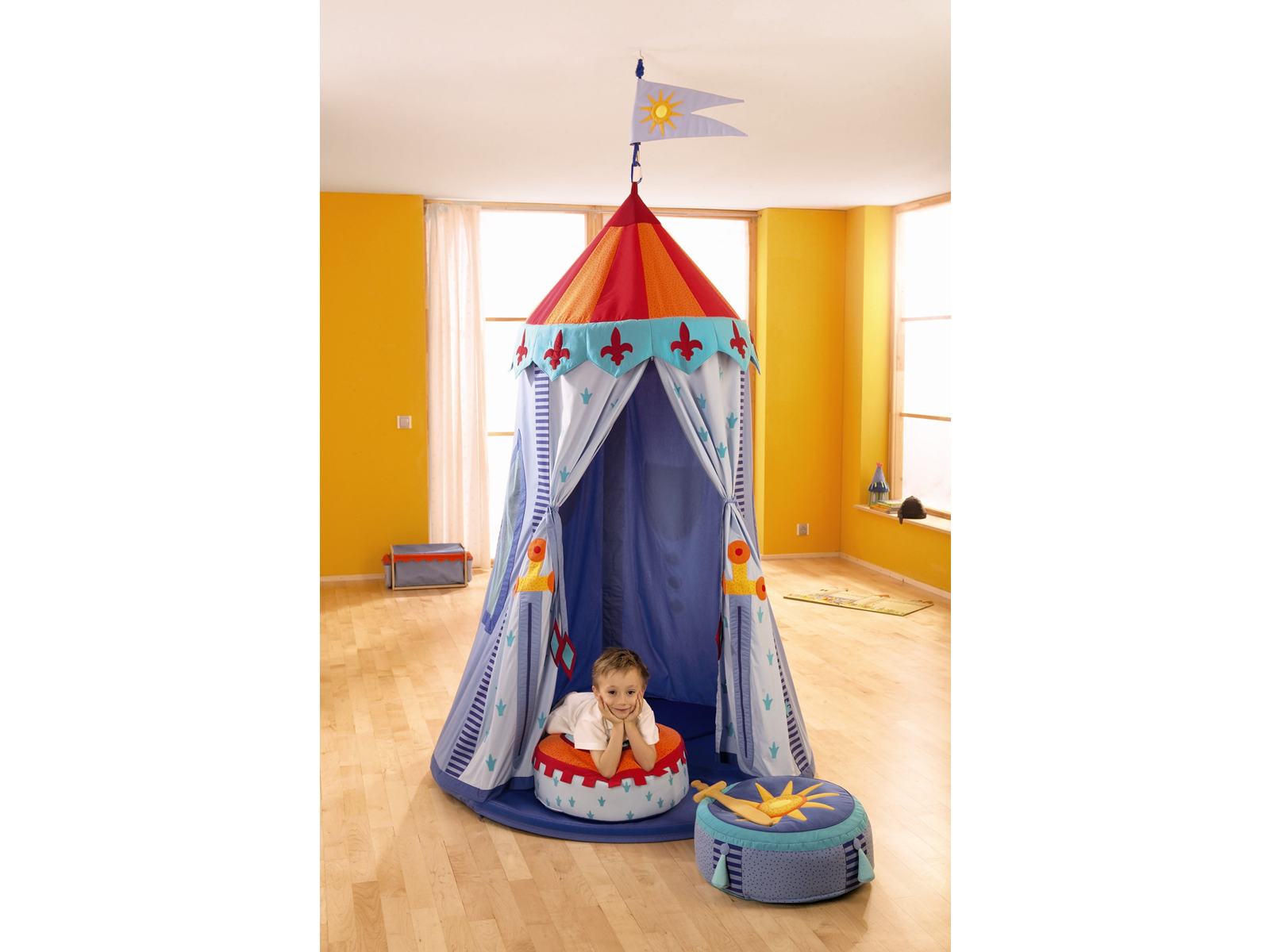 Haba Knight's Hanging Tent - Buy Online - Playhouse of Dreams  - 1