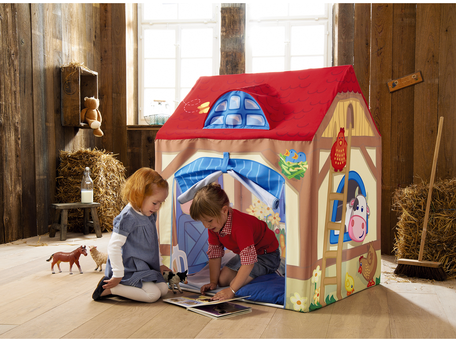 Haba Play Tent Farm - Buy Online - Playhouse of Dreams  - 7