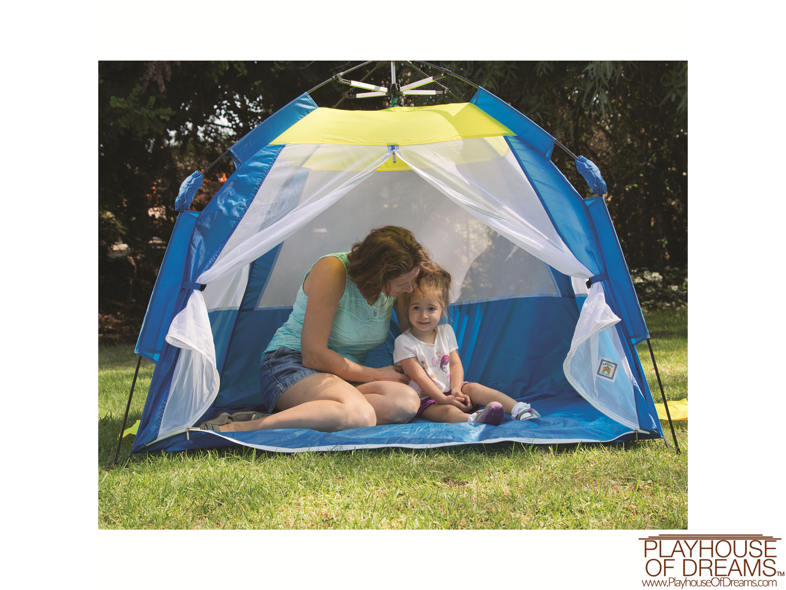 One Touch® Cabana - Pacific Play Tent - Playhouse of Dreams  - 4
