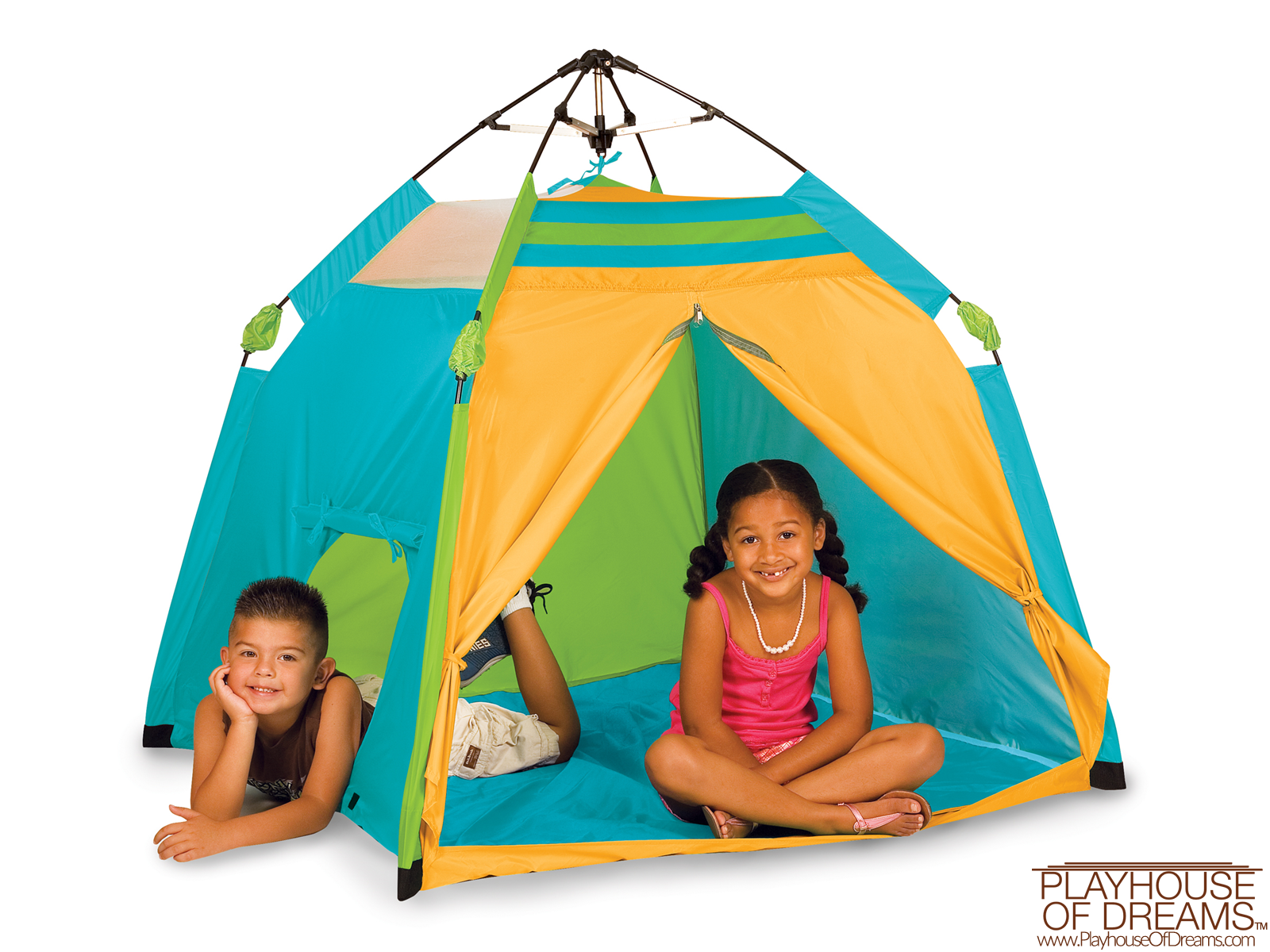 One Touch® Play Tent - Age 3+ Years - Pacific Play Tent - Playhouse of Dreams  - 1