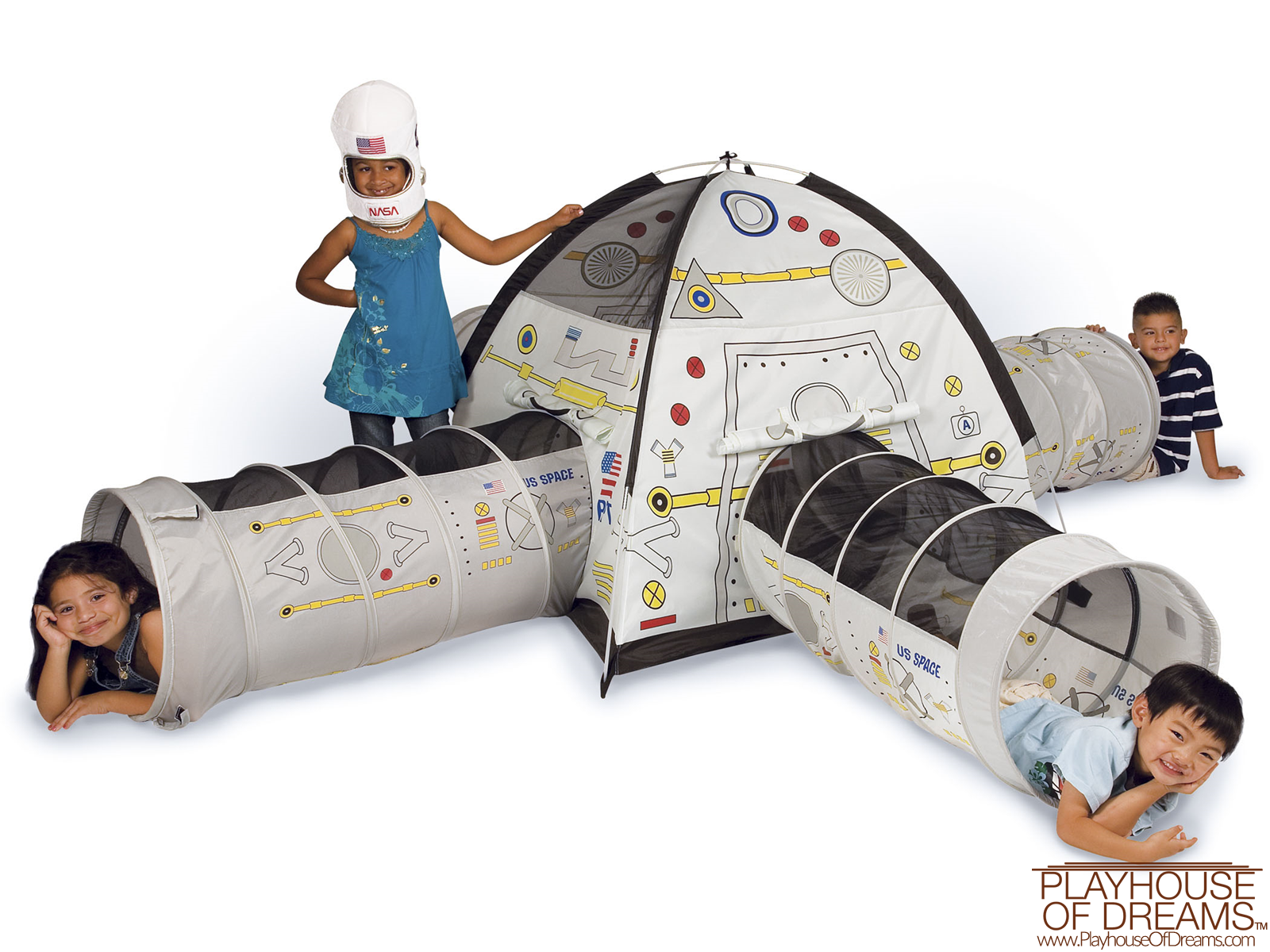 Space Station - Pacific Play Tent - Playhouse of Dreams  - 1