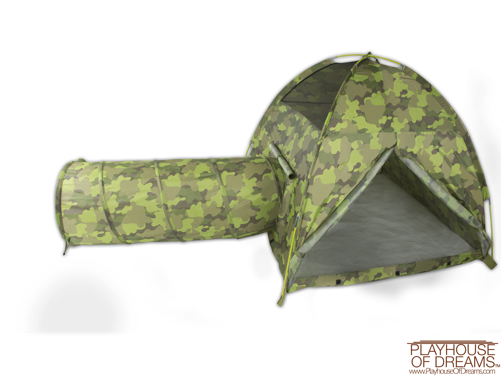 Command HQ Tent & Tunnel Combo - Pacific Play Tent - Playhouse of Dreams  - 1