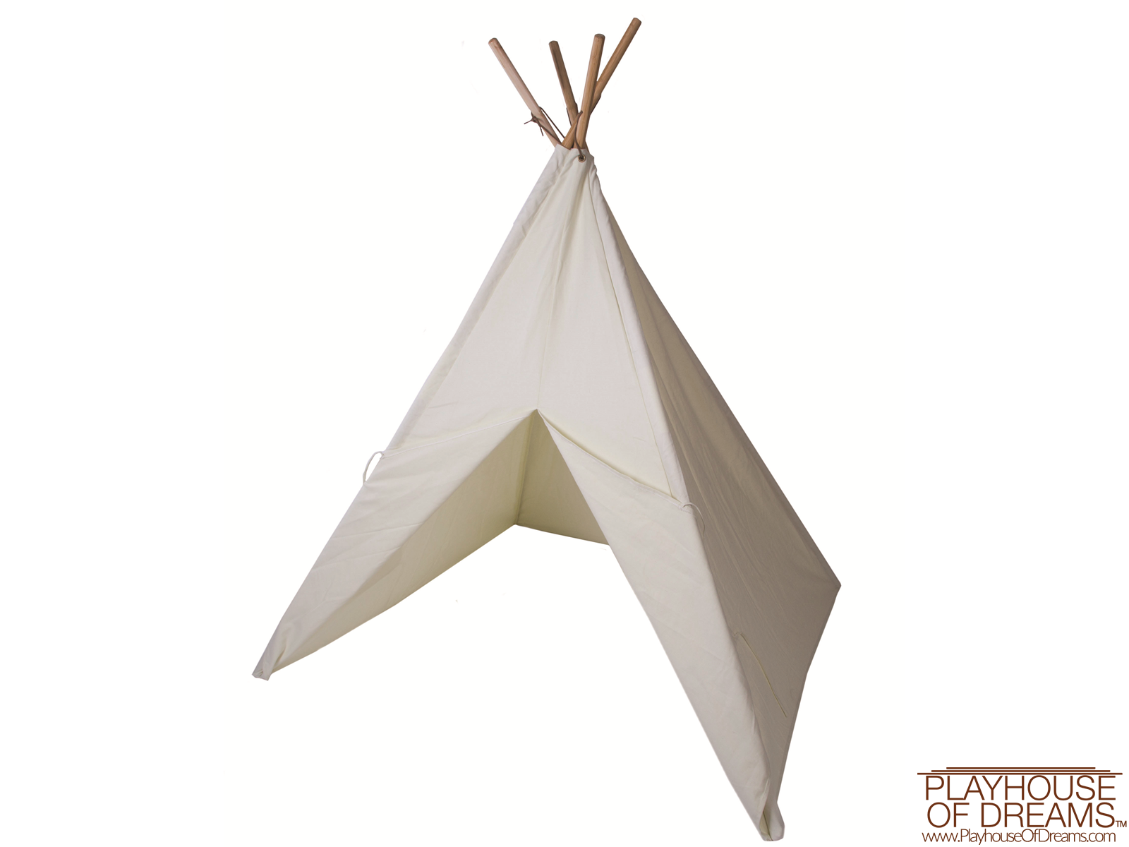 The Painting Tee Pee - Pacific Play Tent - Playhouse of Dreams  - 1