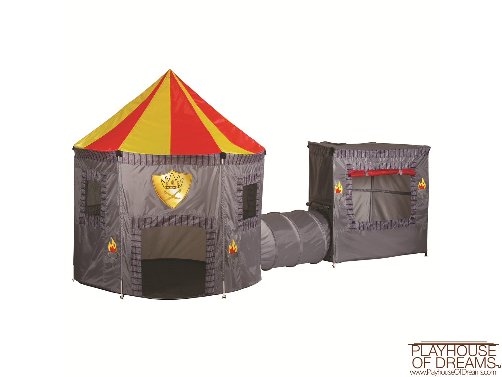 King's Kingdom Combo - Pacific Play Tent - Playhouse of Dreams  - 2