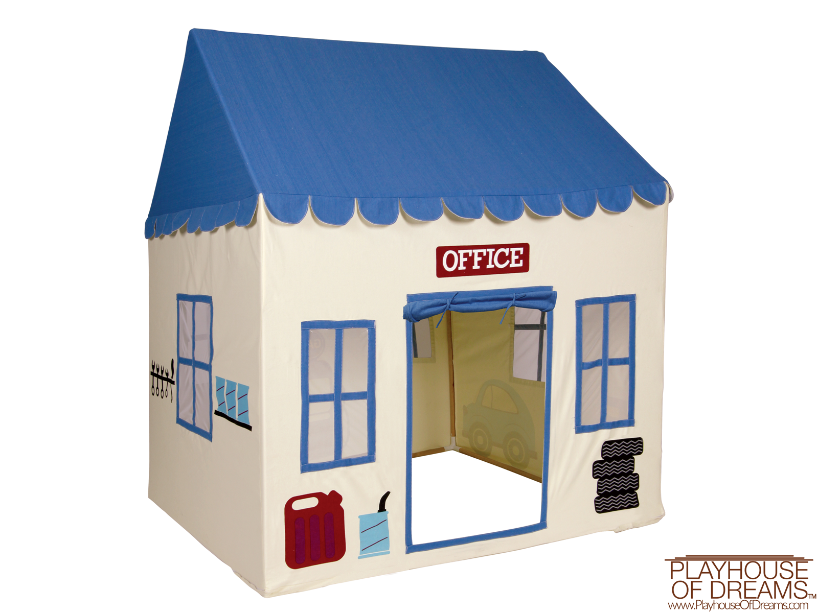 My 1st Garage Play House - Pacific Play Tent - Playhouse of Dreams  - 4