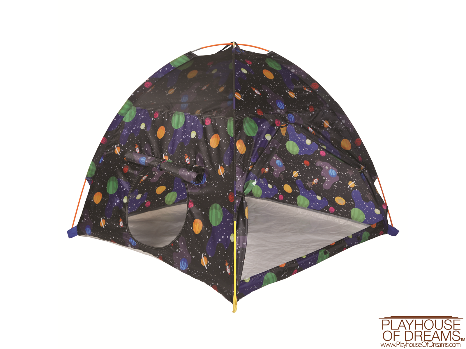 Grow in Dark Galaxy Dome Tent with Galaxy Tunnel - Pacific Play Tent - Playhouse of Dreams  - 5