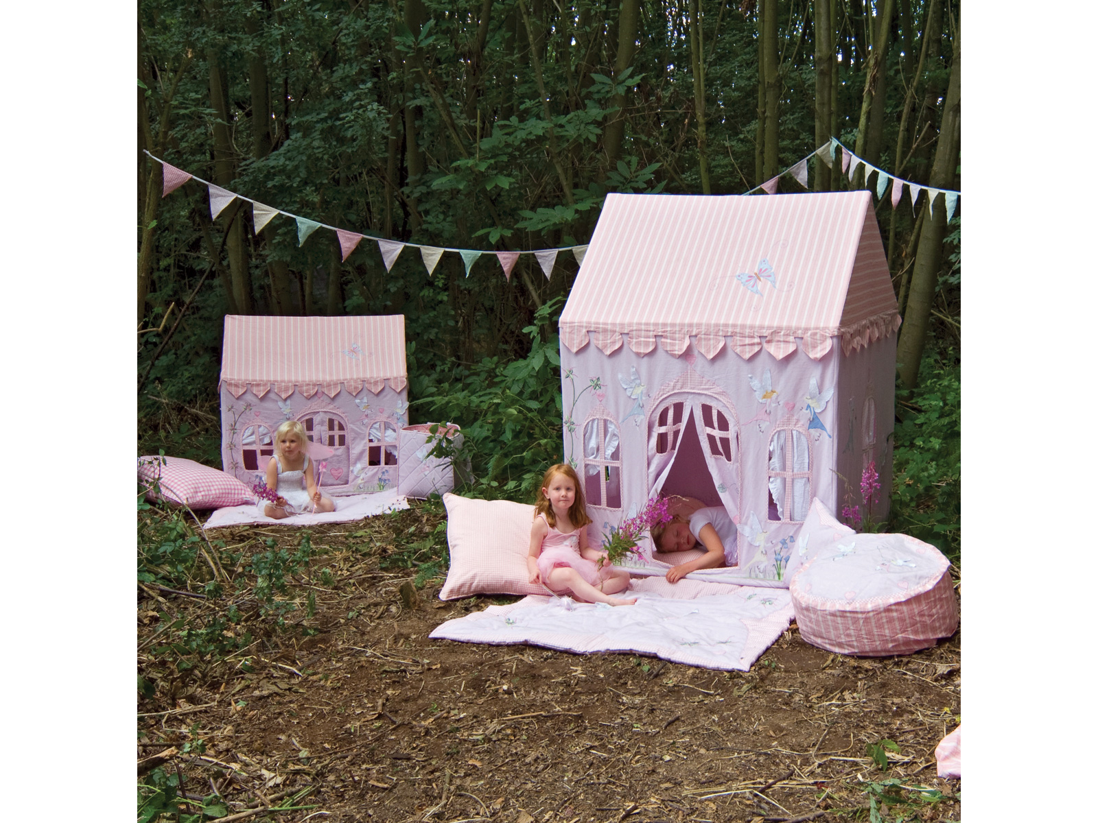 Win Green Handmade Cotton Fairy Cottage Playhouse - Playhouse of Dreams  - 11
