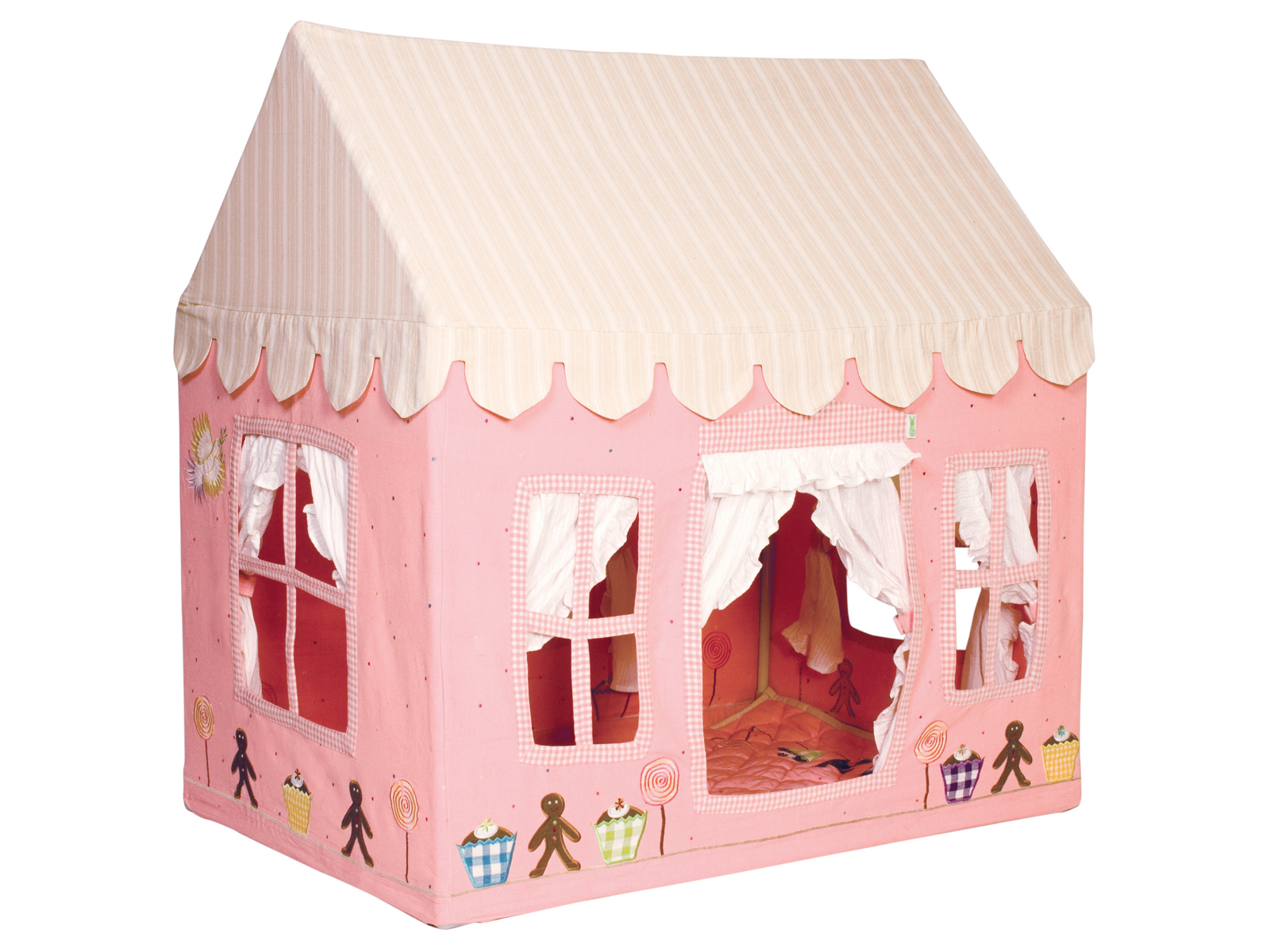 Win Green Handmade Cotton Gingerbread Playhouse - Playhouse of Dreams  - 1