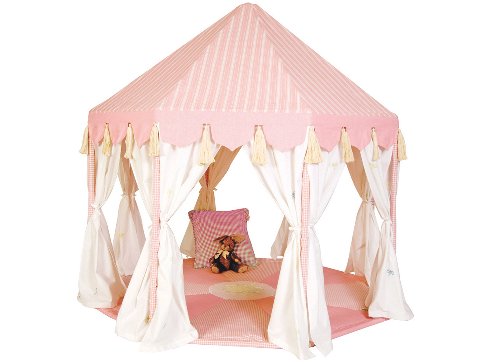 Win Green Handmade Cotton Pavilion - Playhouse of Dreams  - 1