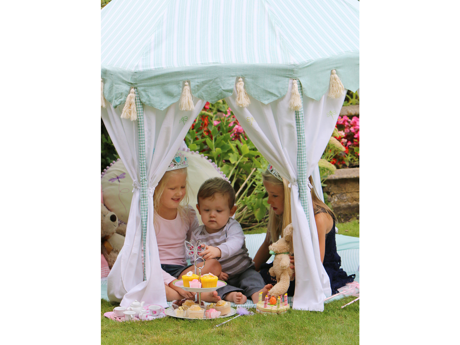 Win Green Handmade Cotton Pavilion - Playhouse of Dreams  - 13