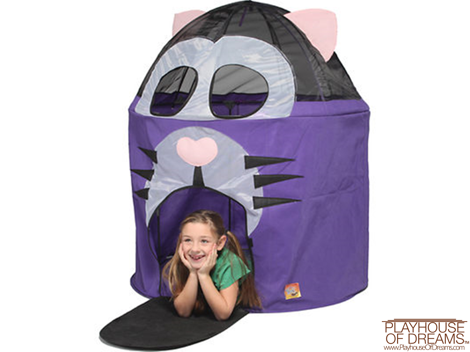 Bazoongi Fat Cat Hut Play Tent - Playhouse of Dreams  - 2