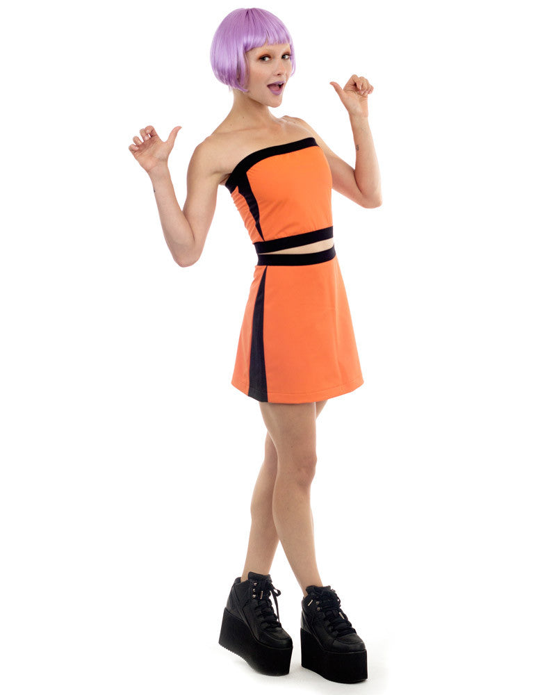 ORANGE RUBBER TUBE TOP