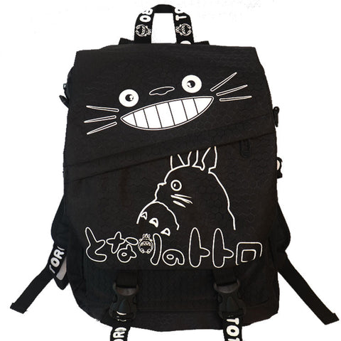My Neighbor TOTORO Black Backpack 2016