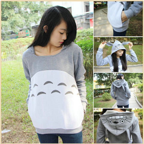 My Neighbor Totoro Cosplay Hoodie