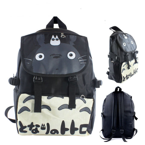 My Neighbor Totoro Black Backpacks