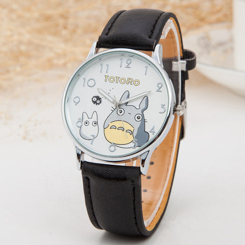Cute Totoro Wrist Watch PU Leather