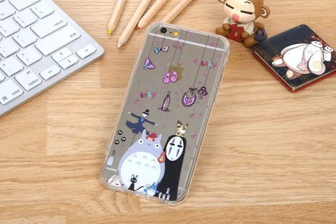 My Neighbor Totoro Clear iPhone/Samsung Case