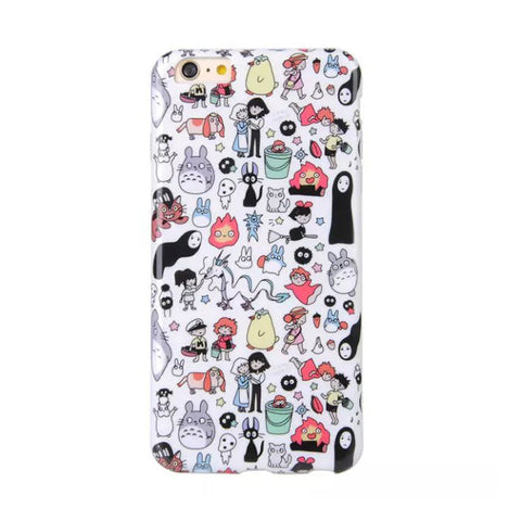Totoro & Friends Phone Case for iPhone 6/6+