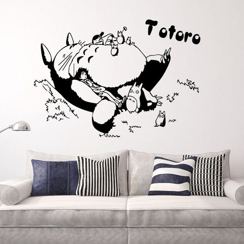 Totoro Vinyl Wall Stickers for Room