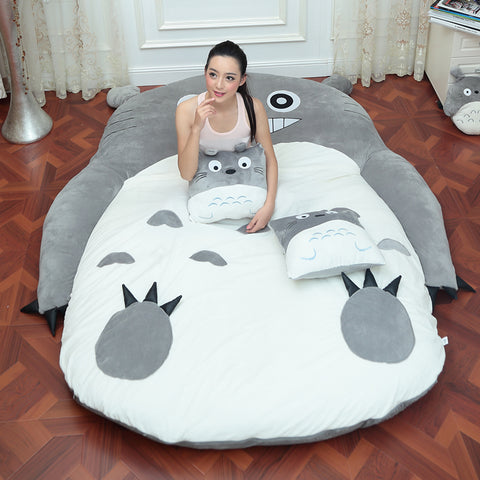 4 Sizes Large Totoro Single And Double Bed Mat