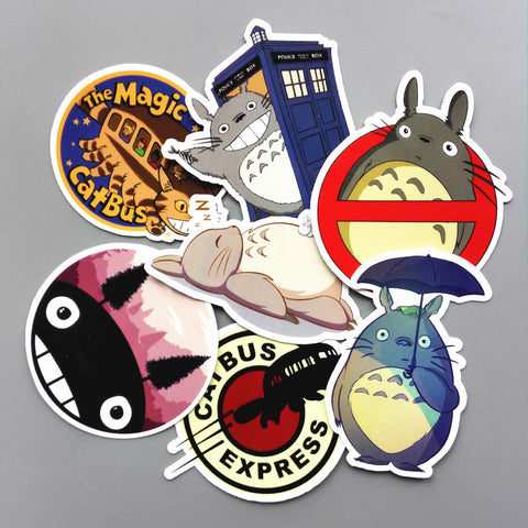 Cute Totoro Sticker Set