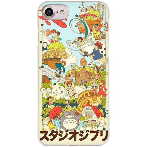 Studio Ghibli Totoro Cell Phone Case iPhone 4/5/6/7 S/SE/Plus