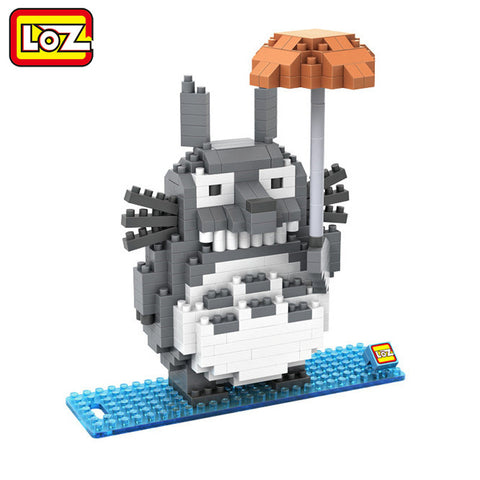 My Neighbor Totoro w/ Umbrella Lego DIY